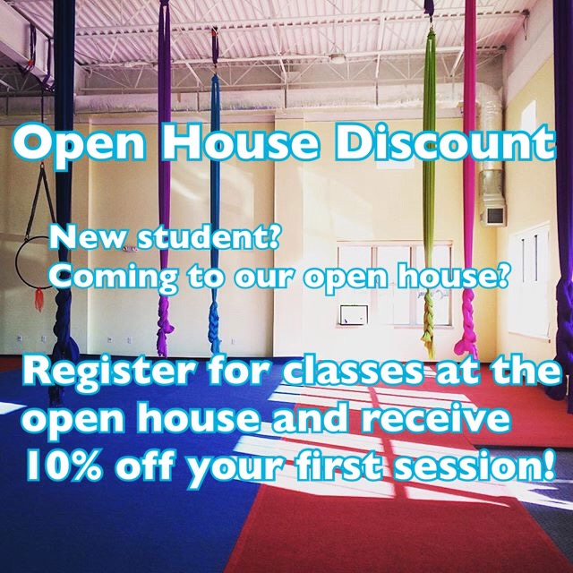 open house discount